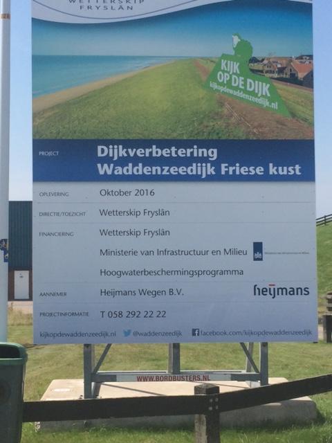 Dijkverbetering Waddenzeedijk
